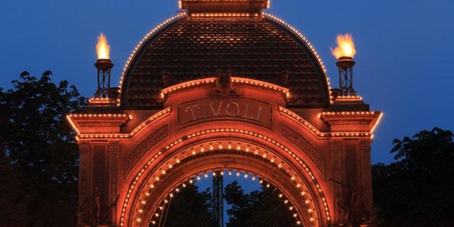 Tivoli Gardens Main Entrance, Copenhagen, Denmark
