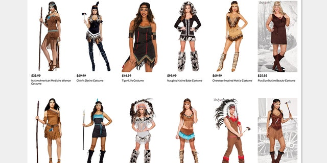 "Twitter users have called the costumes ""offensive"" and ""racist."""