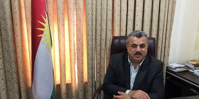 Hussein Al-Qaidi, director of the Kurdistan Regional Government's Prime Minister's Office of Kidnapped and Rescue Affairs