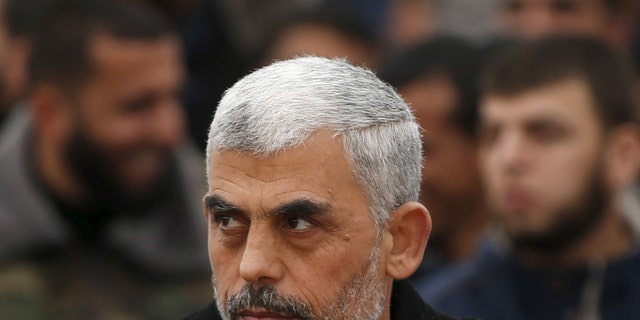Hamas's leader Yahya Sinwar