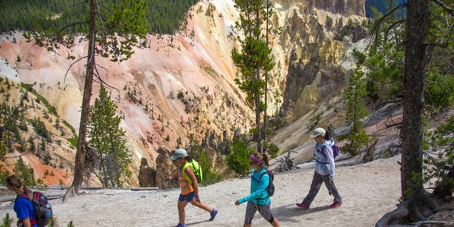 When it comes to hiking, stick to the well-traveled paths.