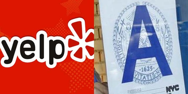 Yelp has launched a unified health code standard for venues in San Francisco and New York .