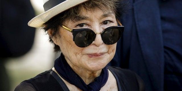 Yoko Ono is seen in an undated photo. (Reuters)