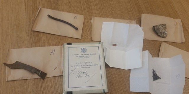 The lost 'UFO' fragments discovered in the Science Museum archives (Dr. David Clarke/Sheffield Hallam University)