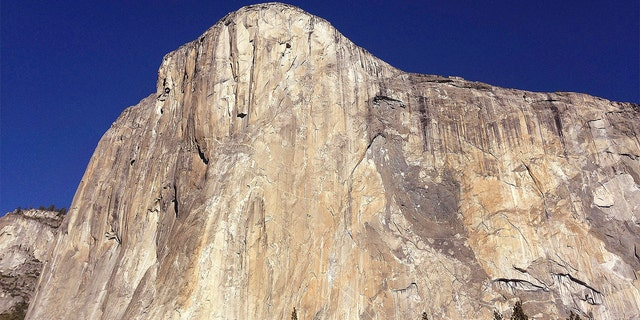 Two people were killed Saturday after they fell while climbing El Capitan in Yosemite National Park, seen in the above file photo, officials said.