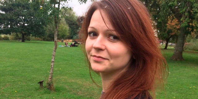 Yulia Skripal was released from the hospital earlier this week after being poisoned with a nerve agent last month.