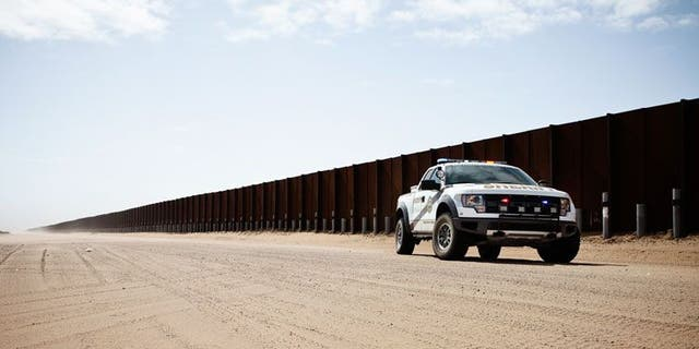 The National Sheriffs' Association announced a crowdfunding website for a wall along the U.S.-Mexico border.