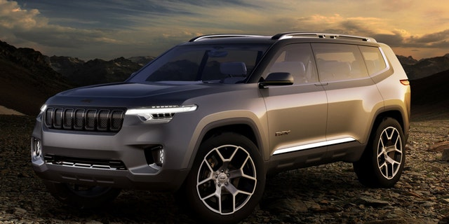 This Isn T Jeep S Upcoming Wagoneer As Some Have Reported But More Likely A Production Version Of The Plug In Hybrid Yuntu Concept We Saw April At