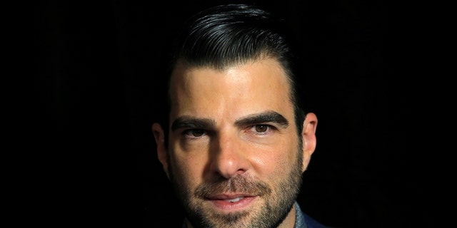 "Actor Zachary Quinto attends the premiere of the film ""Snowden"" in Manhattan, New York, U.S., September 13, 2016."