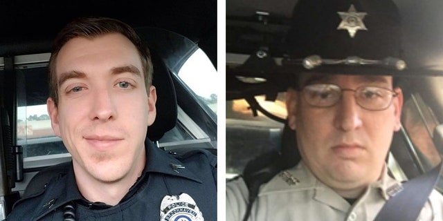 Brookhaven, Miss., police officers Zack Moak and James White were killed Saturday after responding to a call of shots fired.