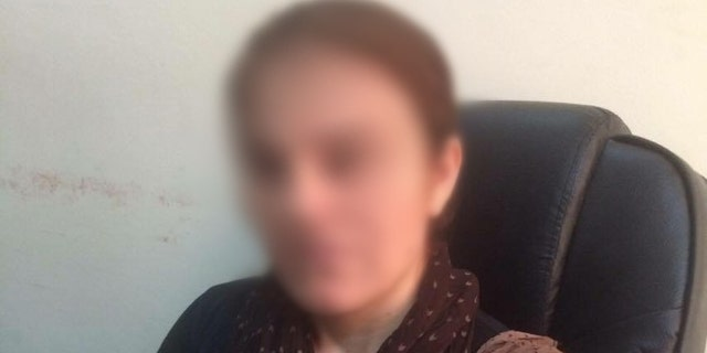 """Zana,"" whose face is obscured to protect her identity, spent more than a year as an ISIS sex slave."