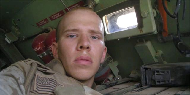 Marine Ben Zellman is being reunited with a camera full of photos from Iraq that was found in 2008.