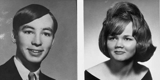 Zodiac Killer victims David Faraday and Darlene Ferrin. The killer terrorized California, and the nation, in the late 1960s and early '70s.