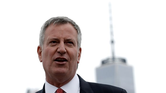 Bill de Blasio says Green New Deal will ban 'inefficient' steel and glass skyscrapers