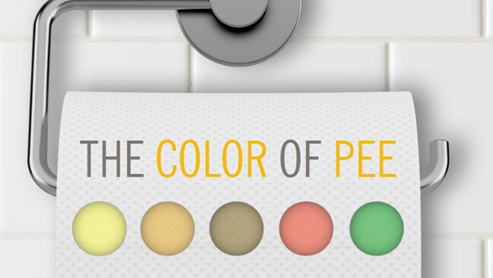What the color of your urine reveals about you