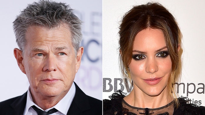 Katharine McPhee has bachelorette party with strippers ahead of David Foster wedding