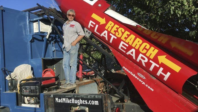 Rocket launch will prove Earth is flat, California man says