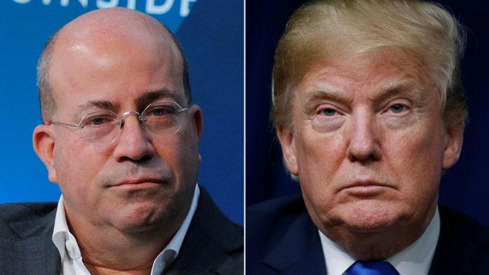 CNN President Jeff Zucker rips Trump, Sarah Sanders after explosive device received