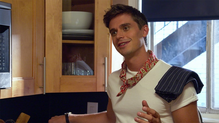 'Queer Eye' star Antoni Porowski talks viral moment with Pete Davidson, Kate Beckinsale makeout pic