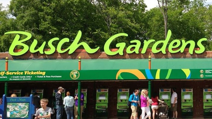 Train at Busch Gardens theme park catches fire | Fox News