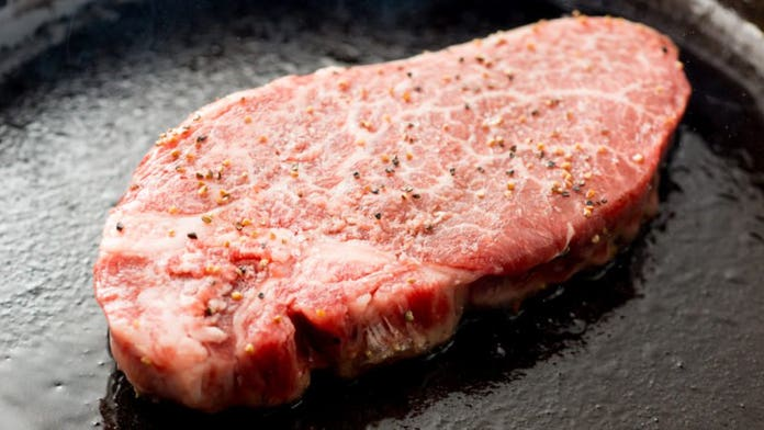 A cast-iron skillet is the best way to grill a steak