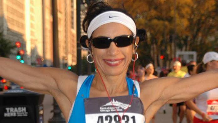 This 57-year-old proves it's never too late to start running