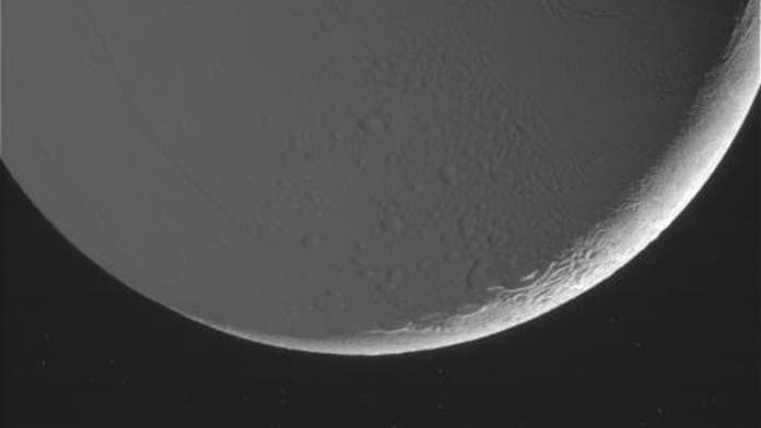 NASA releases striking new images of Saturn's moon Enceladus