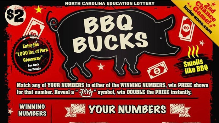 North Carolina Lottery rolls out barbecue scented scratch