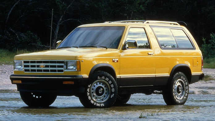 Report Chevrolet Blazer To Return In 2018 Fox News