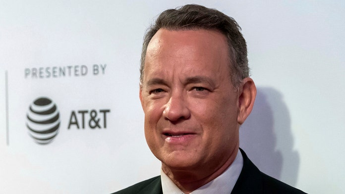 Tom Hanks surprises customers at In-N-Out restaurant in California with free meals