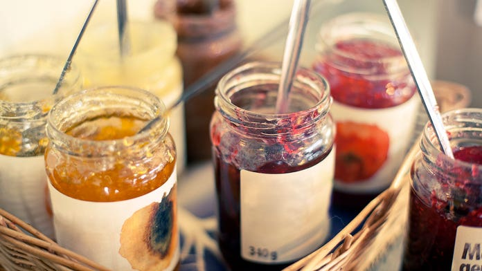 The difference between jelly, jam, preserves and marmalade