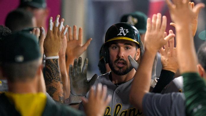 Oakland Athletics' Matt Joyce suspended two games for using gay slur