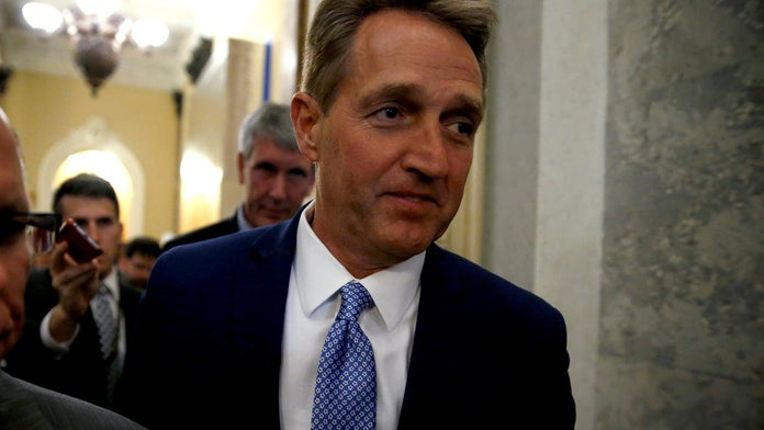Former Arizona Sen. Jeff Flake reveals shocking threats he received while in office: 'Take him and his fami...