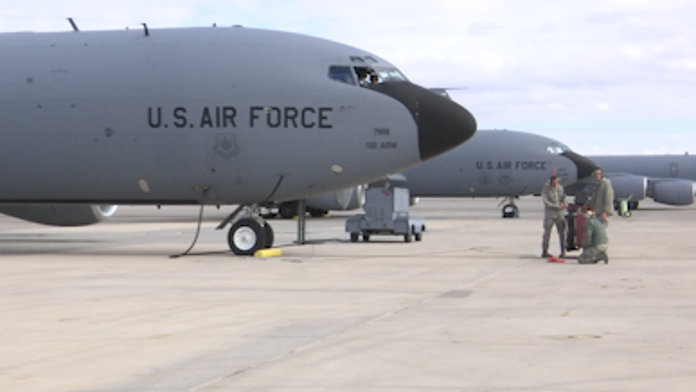 Airman shot in leg at Nellis Air Force Base in Nevada; circumstances being investigated