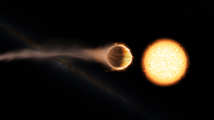 Hubble Telescope detects stratosphere on huge alien planet
