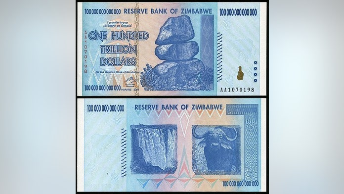 One Us Dollar Z 35 Quadrillion As Zimbabwe Phases Out Old Currency Fox News