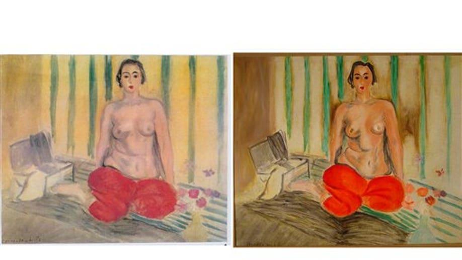 Venezuela Stolen Matisse