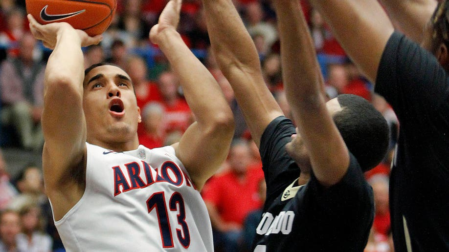 Colorado Arizona Basketball