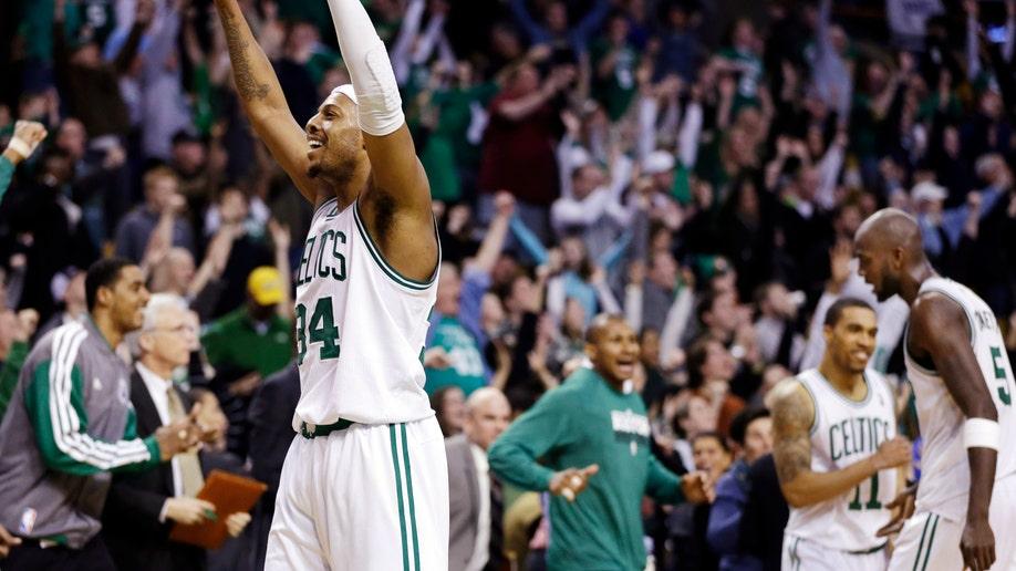 APTOPIX Nuggets Celtics Basketball