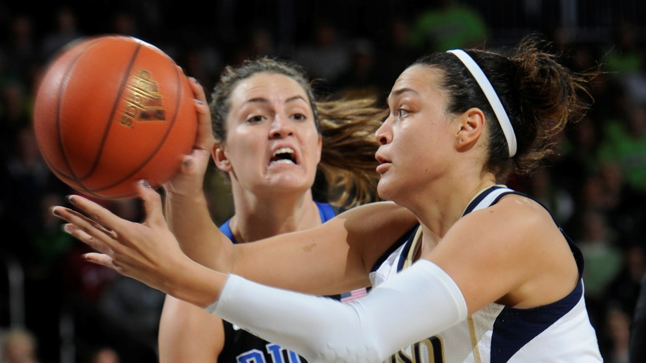 Duke Notre Dame Basketball