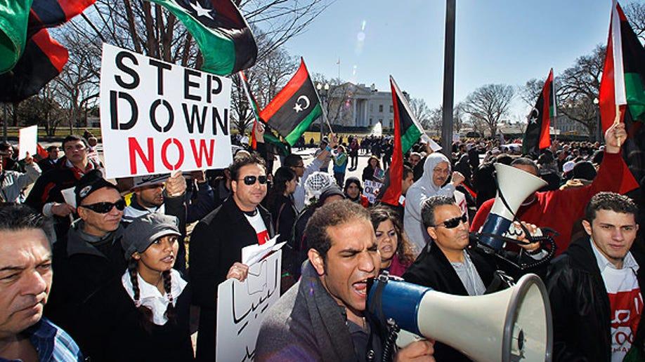 US Libya Protests