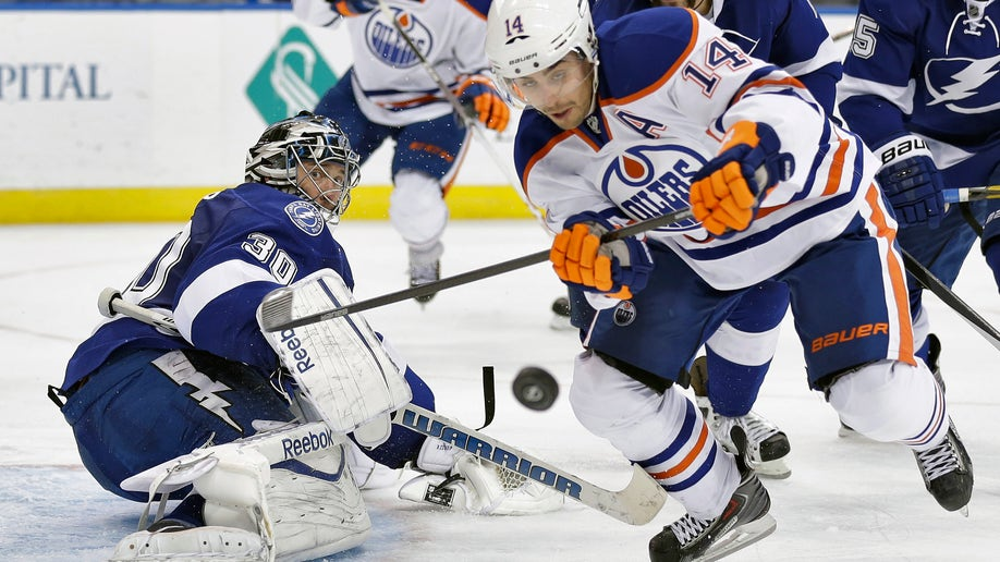 Oilers Lightning Hockey