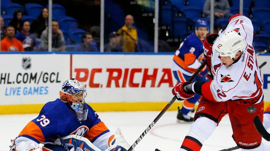 Hurricanes Islanders Hockey