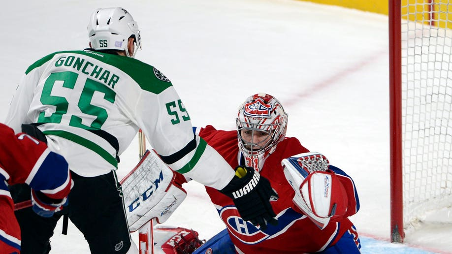 Stars Canadiens Hockey