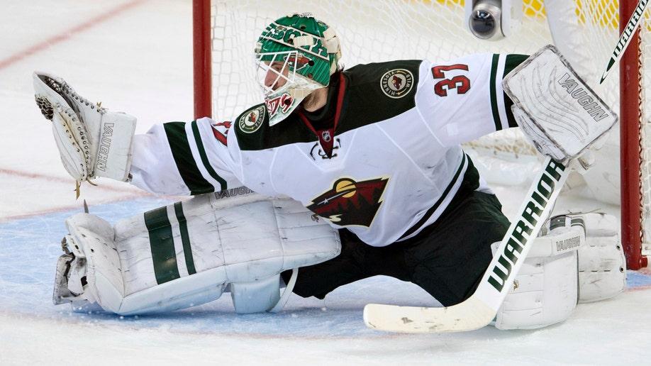 Wild Senators Hockey