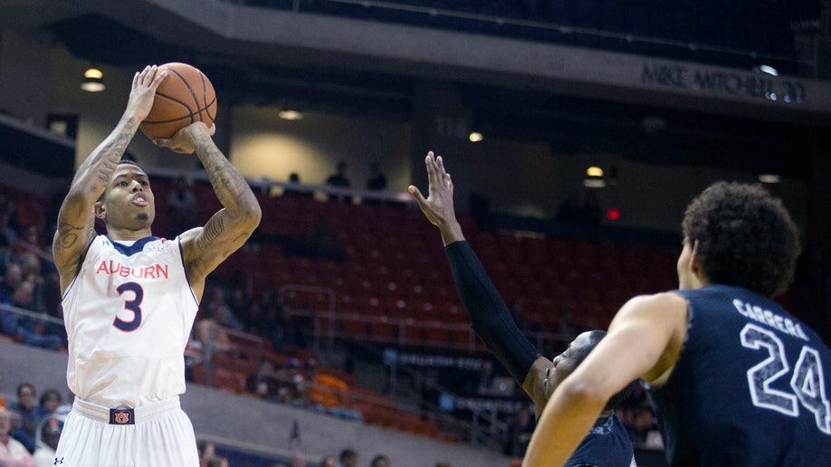 Auburn South Carolina Basketball