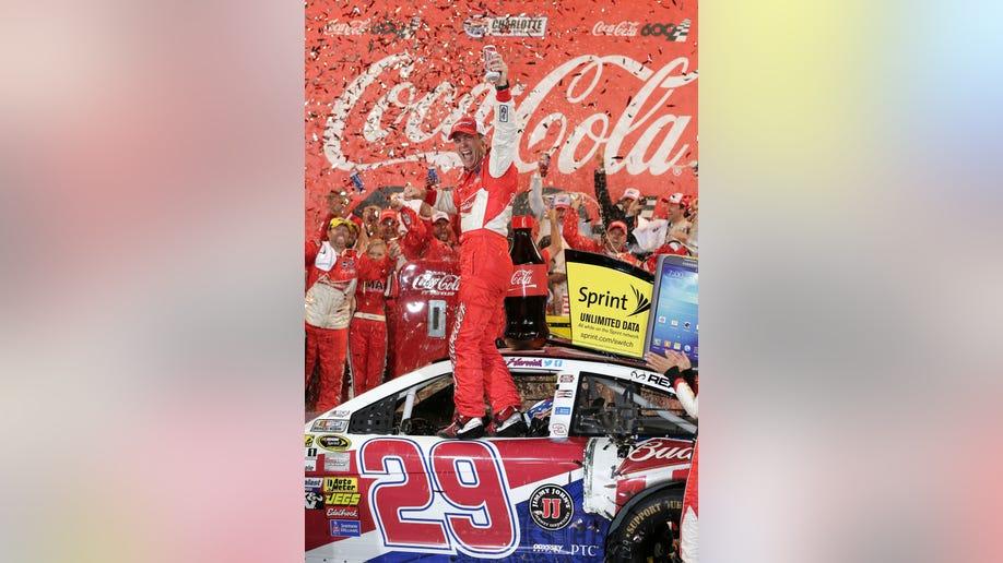 APTOPIX NASCAR Charlotte Auto Racing