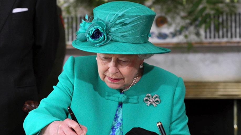 Ireland Queen's Visit