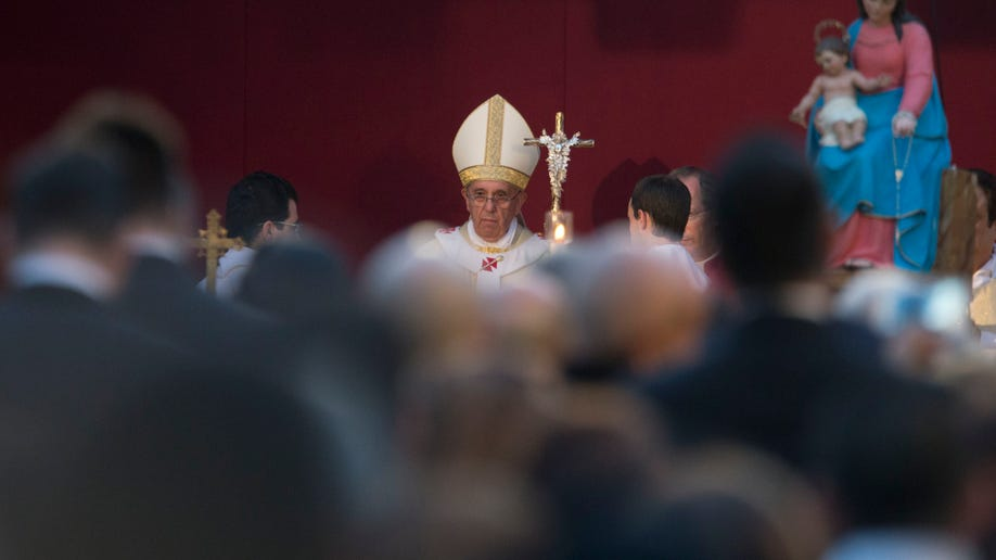 Italy Vatican Pope All Saints Day