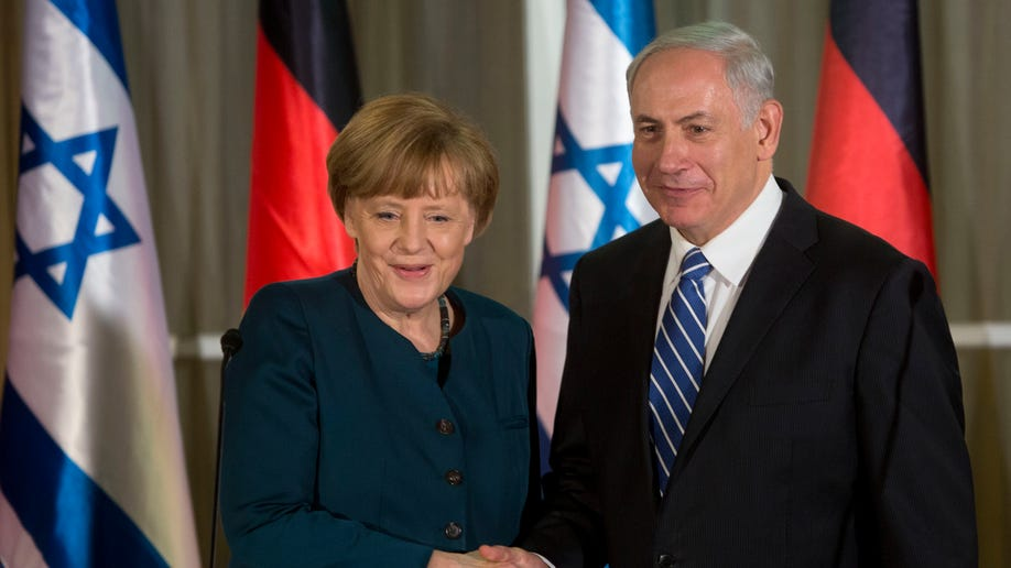Mideast Israel Palestinians Germany